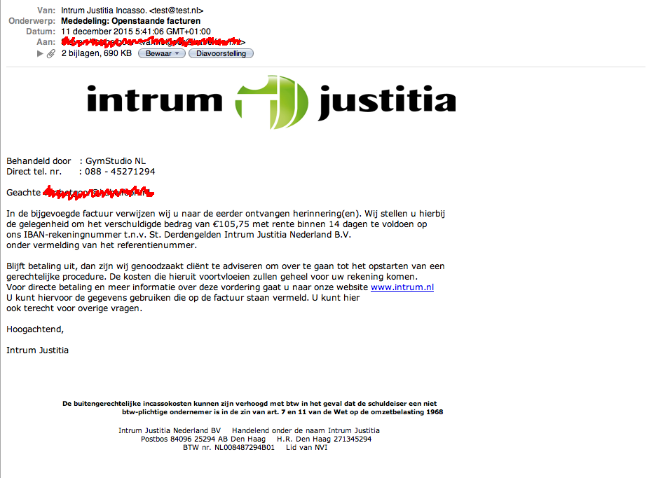 Intrum Justitia e-mail